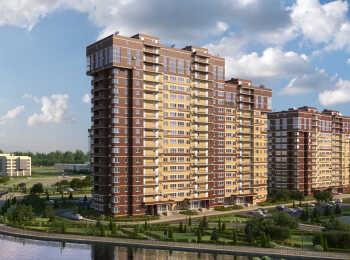 Общий вид на жилой комплекс Татьянин парк